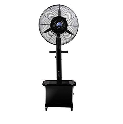 Ventilador de pie Industrial Ventilador de nebulización industrial con humidificador de niebla...