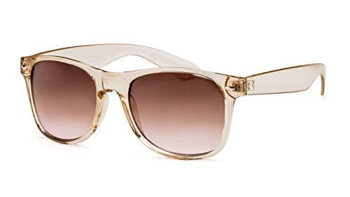 Filtral Damen-Sonnenbrille/Angesagte transparente Fassung mit braunen Verlaufsgläsern F3021219