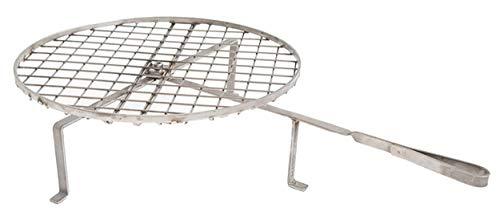 BG53X - Rejilla giratoria de 40 cm de diámetro, de acero inoxidable cruccolini