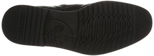 Negro De Clásico negro Salamandra Botas Hombre Adam OqX1pX