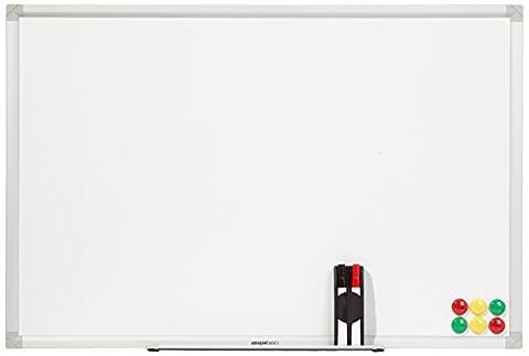 AmazonBasics Whiteboard Drywipe Magnetic with Pen Tray
