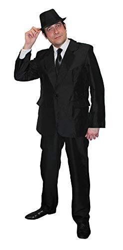 ILOVEFANCYDRESS Brothers Blues=KOSTÜM Verkleidung=Fasching+Karneval=Film und FERNSEHN= Das Perfekte KOSTÜM FÜR Jede Art der KOSTÜMIERUNG =XLarge+ HUT-58cm
