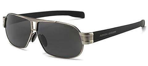 AORON Fahren polarisierte Sonnenbrille für Herren 100% UV-Schutz