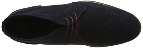 Red Tape Foxhill, Desert boots homme Bleu (bleu marine/suède)