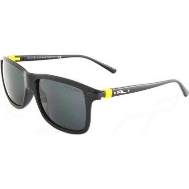 Polo Ralph Lauren PH4084, Occhiali da Sole Uomo, Nero (Shiny Black 500187), Taglia Unica (Taglia Produttore: One Size)