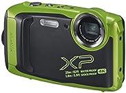 كاميرا فوجي فيلم فاين بيكس XP140 مضادة للماء - اخضر ليموني