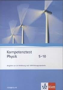 Kompetenztest Physik 5-10. CD-ROM: CD-ROM für Lehrerinnen und Lehrer