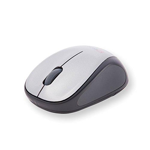 DYN-A Drahtlose Maus Geräuschlose Computermaus: 2,4 Ghz kabellose Funkmaus - Reduzierte Klickgeräusche für bessere Konzentration bei der Arbeit & beim Lernen für Computer, Laptop, Tablet & PC