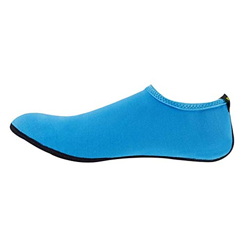 ChicSoleil Aqua Socken Damen Herren Kinder Strandsocken Schwimmsocken Wassersocken Tauchsocken Schnelltrocknend für Schwimmen, Beach Volleyball Schnorcheln Segeln Surfen Yoga