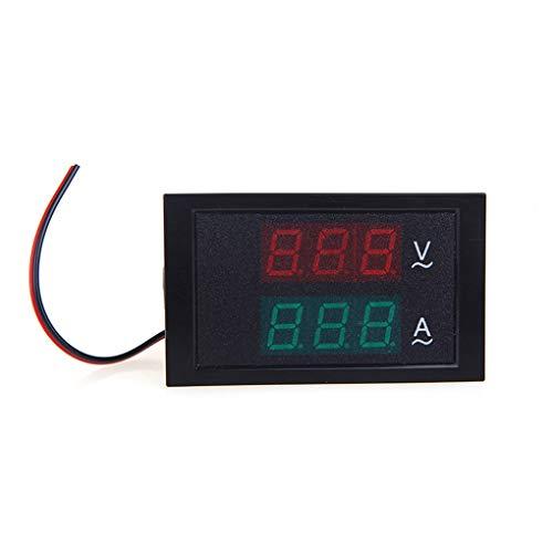 Ben-gi DL85-2042 2 in 1-Volt-Ampere-Panel Meter 80-300V / 100A AC Voltmeter Amperemeter Digital AC Dual-Anzeige Stromspannungsprüfer Ampere Panel