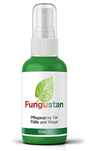 Fungustan - Das Original | Pflegespray für Fuß & Nagel - Hochdosiert - 50 ml, 1 Flasche