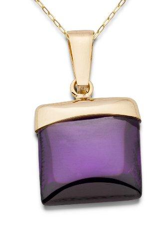 Miore  Collier Femme  375/1000 (9 carats) Violet
