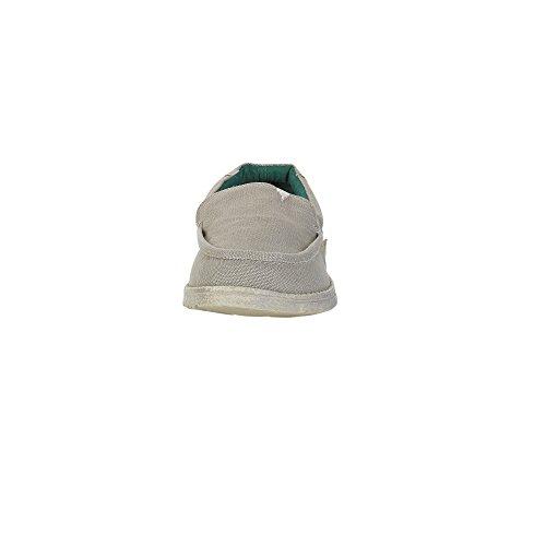 Dude Shoes Men's Remo Cord Canvas Slip On Beige