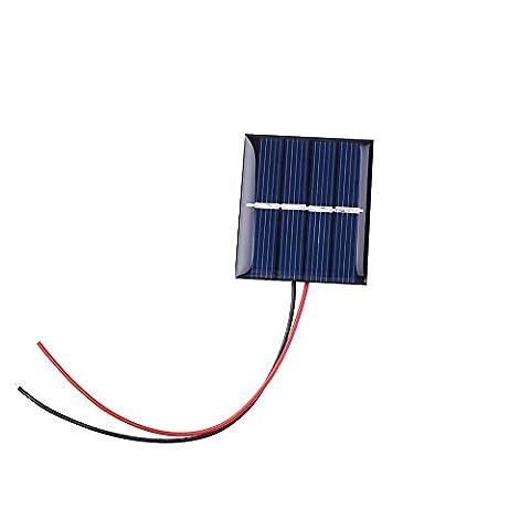 Cewaal 0.36Watt 2Volt 180mA Mini panneau de puissance solaire Polycrystalline Sunpower Module de bricolage Chargeur de batterie pour téléphone portable Charging