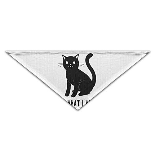 BigHappyShop Black Cat Pet Scarf Dog Neckerchief Puppy Triangle Triangle Bibs Scarfs for Pet ()