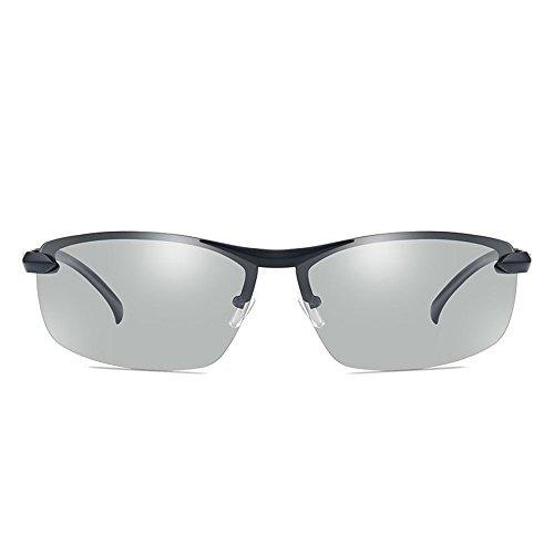 Douerye Fotografie Automatische Farbwechsel Männer Polarisierte Sonnenbrille Fahren Gläser