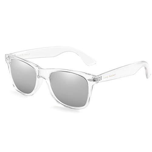 b0d75bb1fbd81 Long Keeper Gafas de sol Polarizadas Gafas de sol Cuadradas Vendimia  Clásico para Mujeres Hombres (