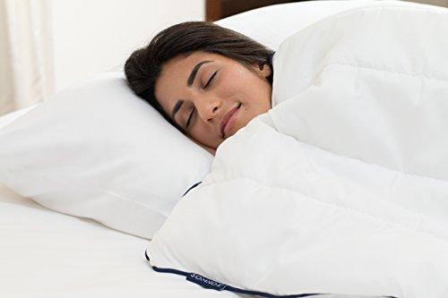 SOMNOS Therapiebettdecke Gewichtsdecke, Schwere Decke für Erwachsene für besseren Schlaf Grösse - 135 x 200 cm, 9 Kg. - 3