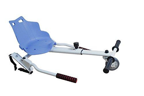 Sumun Sbksgt Asiento Kart Hoverboard, Blanco / Azul, 6.5
