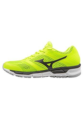 Mizuno Synchro Mx, Chaussures de Running Compétition homme noir - blanc - gris