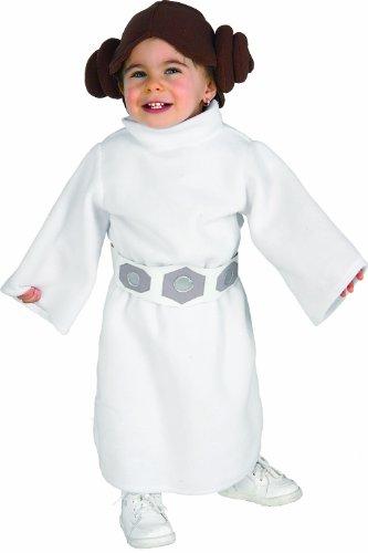 Rubie 's–Disfraz de oficial de Disney Star Wars Leia infantil, los niños–infantil