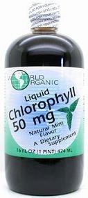 World Organics Chlorophyll Caps 60 mg 50 Capsules by World Organics