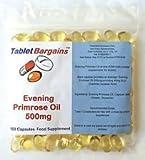 Tablet Bargains - Evening Primrose Oil 500mg - 100 Capsules by Club Vits Ltd