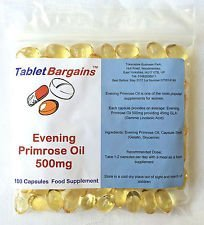 Tablet Bargains - Evening Primrose Oil 500mg - 100 Capsules by Club Vits Ltd