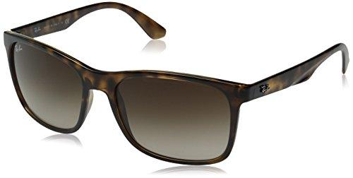 Ray-Ban Herren Sonnenbrille 0rb4232 Havana/BROWNGRADIENT, One size (57)