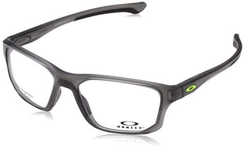 Ray-Ban Herren 0OX8136M Brillengestelle, Schwarz (Satin Grey Smoke), 55