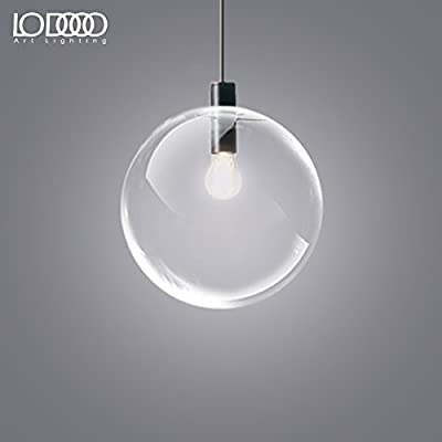 Leihongthebox Industrial Vintage Pendant Light Shade modern creative personality of a single bed for children spherical glass bulb Pendant Ceiling Lights