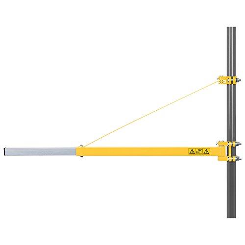 Powerplus Schwenkarm Seilzug verlängerbar 110 cm - 300-600 kg Tragkraft