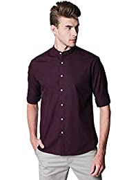 Dennis Lingo Men's Slim Fit Casual Shirt