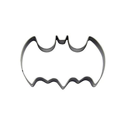Lalang Edelstahl Batman-Form DIY Cookies Fondant Puzzle Form Ausstechformen Deko Kuchen verziert Fondant Schneider Werkzeug