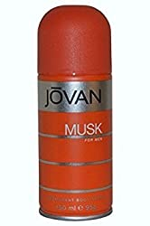 Jovan Musk Deodorant Spray for Men, 150 ml