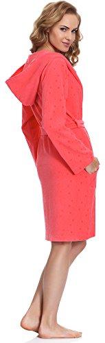 Merry Style Robe de Chambre Femme MS542 Corail