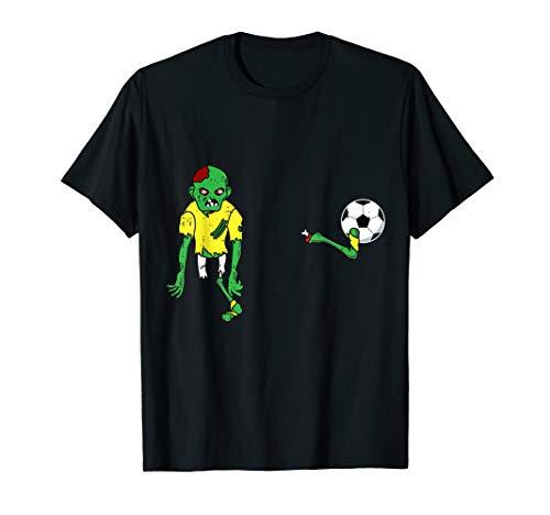 Zombie Fußball Kostüm - Zombie Fußball Kostüm Nettes Monster Halloween Geschenk T-Shirt