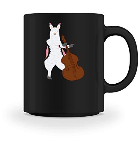 Chorchester Ideal für Kontrabass und Alpaka Fans - Tasse -M-Schwarz