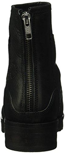 cashott - A16045, Stivali bassi con imbottitura leggera Donna Nero (Nero (Black 2001))