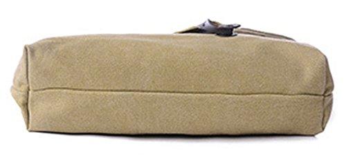 Longzibog Dual verstellbare Schultergurte und Hängeschlaufenband Mode Simple Style Fashion Tote Top Handle Schulter Umhängetasche Satchel Beige