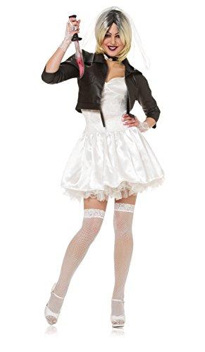 Women's Sexy of Bride Chucky-Kostüm (Sexy Chucky Kostüm Für Erwachsene)