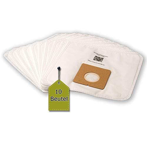eVendix Staubsaugerbeutel passend für Bomann BS 9019 CB | 10 Staubbeutel + 1 Mikro-Filter | kompatibel mit Swirl Y98/Y298