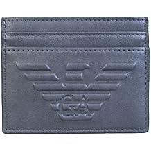6b43b0e202c Emporio Armani portefeuille credit carte card crédit homme blu