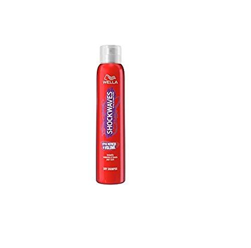 Wella Shockwaves Style Refresh & Volume Trockenshampoo 180 ml Für einen frischen Style mit Textur & Struktur