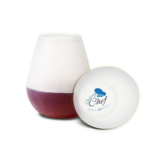 chuzy-chef-set-of-2-silicone-wine-glasses-tumbler-shatterproof-and-reusable-beer-cups-clear