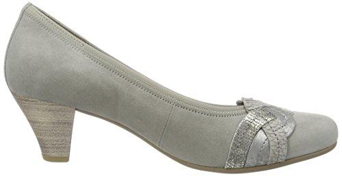 Gabor Shoes Fashion, Scarpe con Tacco Donna Grigio (grau/argento 19)
