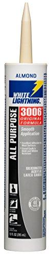 white-lightning-products-1010-3006-siliconized-all-purpose-acrylic-latex-adhesive-caulk-almond-white