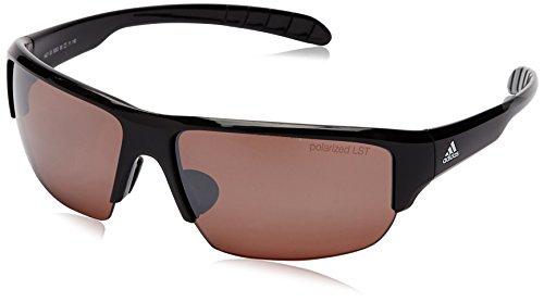 adidas Eyewear-Kumacross Halfrim Polarized, Farbe Black Shiny