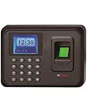 FEECOM CP Plus Fingerprint Time Attendance Biometric Machine (Black)