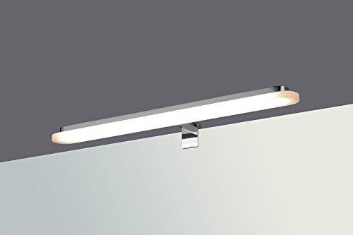 LED Badleuchte Badlampe Spiegellampe Spiegelleuchte Schranklampe Aufbauleuchte, Typ:rund - neutralweiss